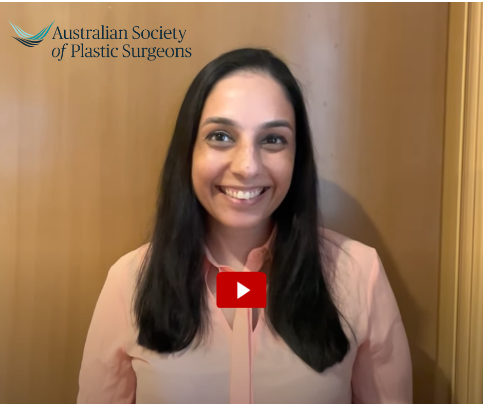 Trainee Dr Shivani Aggarwala – Why did you want to become a Specialist Plastic Surgeon?